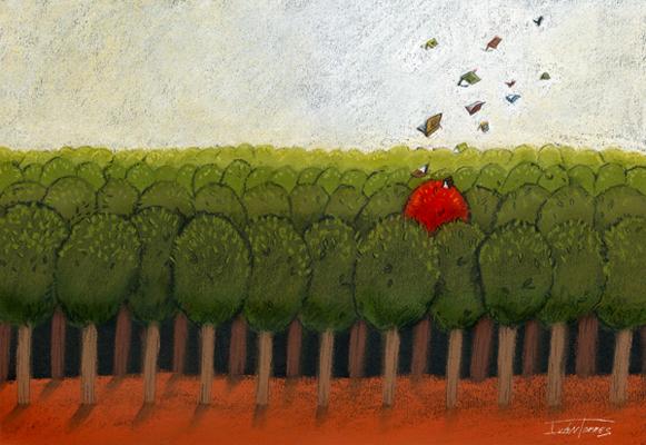 """Gracias, revista """"El árbol rojo"""""""
